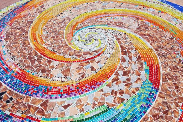 12885821-colorful-ceramic-pattern-broken-tile-wall-Stock-Photo-mosaic