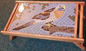 Custom-made-mosaic-serving-tray-art-specialty item-