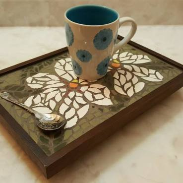 Serving-tray-mosaic-custom built-Handcrafted