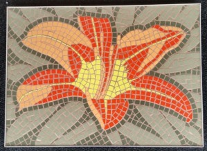 Fiesta-Lily-mosaic-art