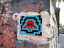 mosaic-modern-pixel-art-french-invader